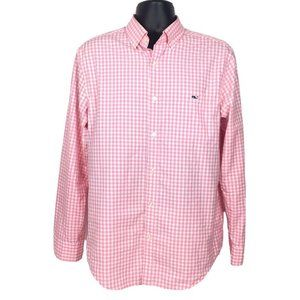Vineyard Vines Mens M Classic Fit Tucker Shirt M